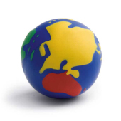Anti-stressbal Wereldbol